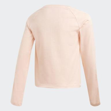 T-shirt 3-Stripes Cropped rose Adolescents Originals