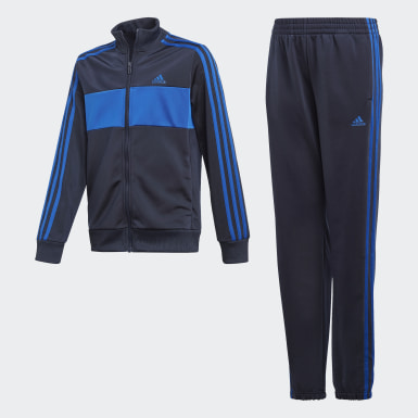 Jongens Training blauw Tiberio Trainingspak