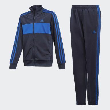 Boys Træning Blå Tiberio træningsdragt