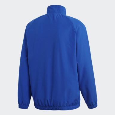 Mænd Træning Blå Core 18 Presentation jakke