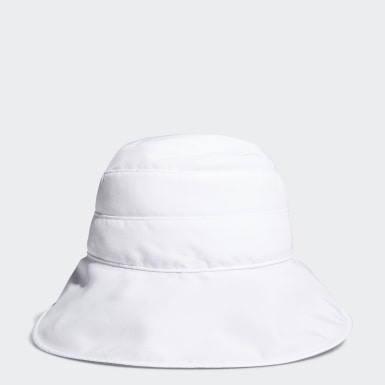Women Golf White UV Bucket Hat