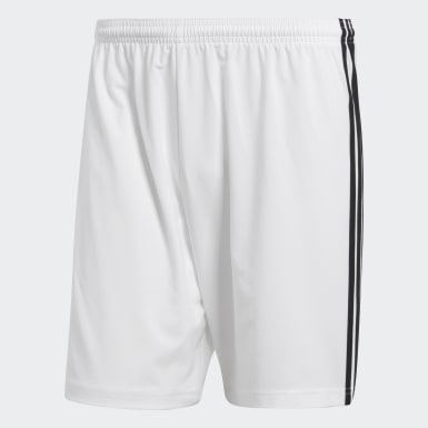 Short Condivo 18 Blanc Hommes Football