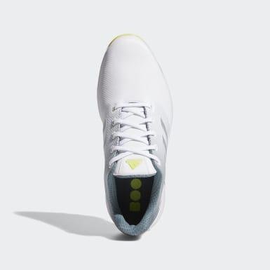 Sapatos de Golfe Wide ZG21 Branco Golfe