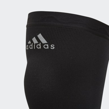 Training Μαύρο Performance Climacool Knee Support Small