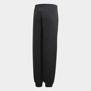 Pantalon Snap noir Adolescents Entraînement