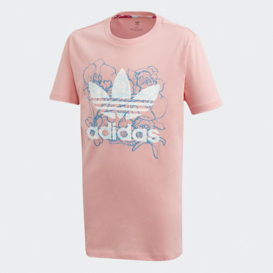Girls Originals Pink Long Tee