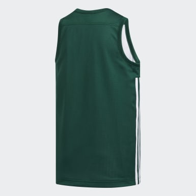 Camiseta Reversible 3G Speed Verde Niño Baloncesto