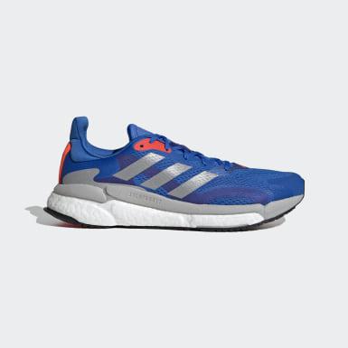 Men Running Blue SolarBoost 3 Shoes