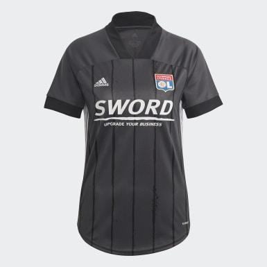Camiseta segunda equipación Olympique de Lyon 20/21 Gris Mujer Fútbol