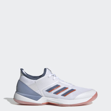 Women's Tennis White Adizero Ubersonic 3 Shoes