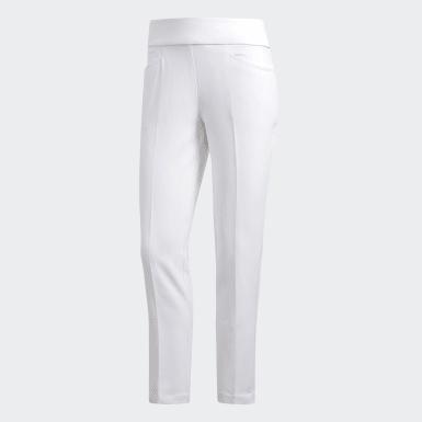 Pantaloni Ultimate365 Adistar Cropped Bianco Donna Golf