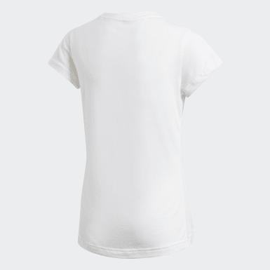 Genç Sport Inspired Beyaz Must Haves Badge of Sport Tişört