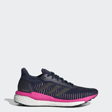 Zapatilla Solar Drive 19 Azul Mujer Running