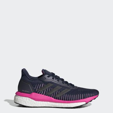 Zapatillas Solar Drive 19 Azul Mujer Running