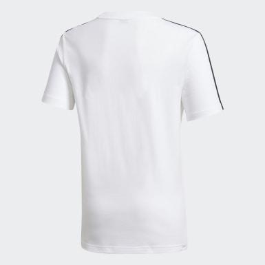 Karate T-skjorte Hvit