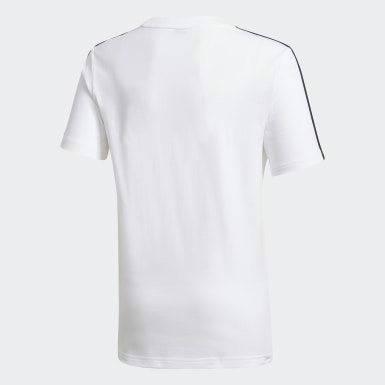 Boys Training White Karate Tee