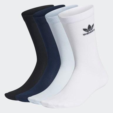 белый Шесть пар носков Trefoil