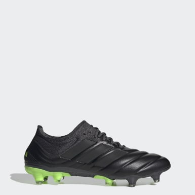 Men's Soccer Black Copa 20.1 Firm Ground Boots