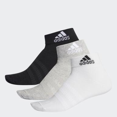 Training Gri Bilek Boy Çorap - 6 Çift