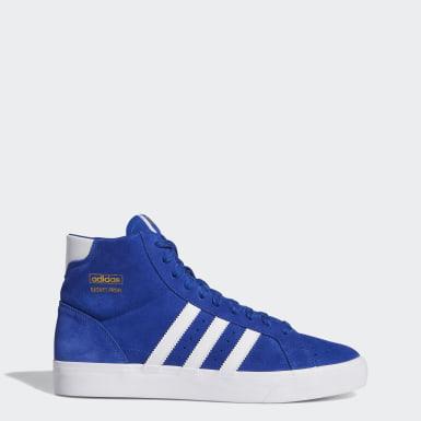 Sapatos Basket Profi Azul Mulher Originals