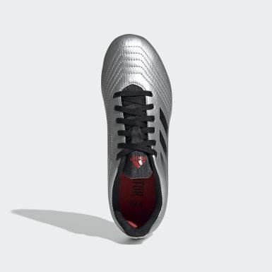 Zapatos de Fútbol Predator 19.4 Multiterreno Plateado Niño Fútbol