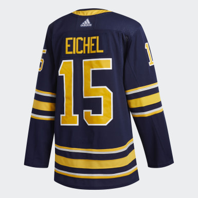 Men Hockey Blue Sabres Eichel Home Authentic Pro Jersey