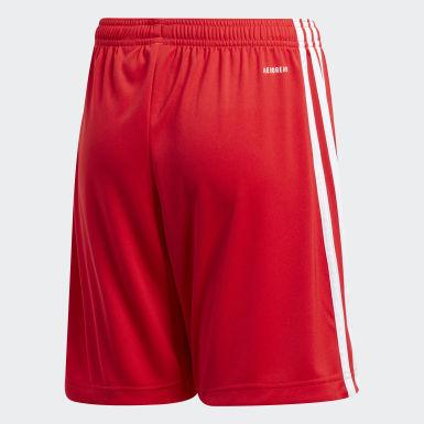 Děti Fotbal červená Domácí šortky 1. FC Union Berlin 20/21
