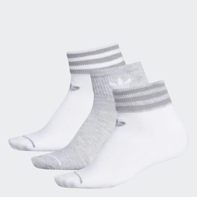 Women's Originals White Low-Cut Socks 3 Pairs