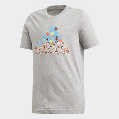 Remera Must Haves Gaming Gris Niño Training