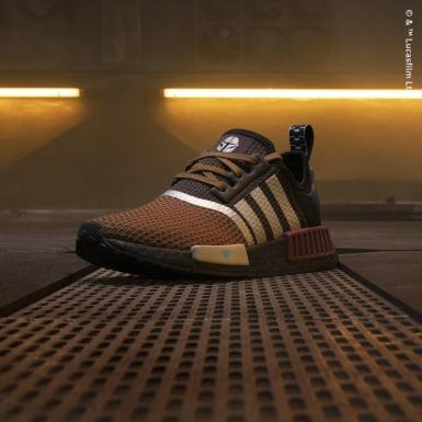 Genç Originals Kahverengi NMD_R1 The Mandalorian Ayakkabı