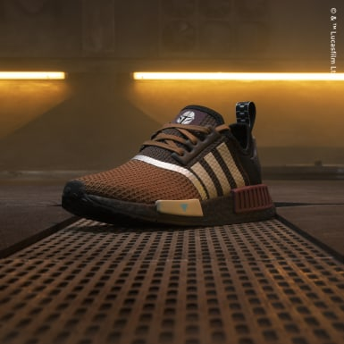 Youth Originals Brown Star Wars Mandalorian NMD_R1 Shoes