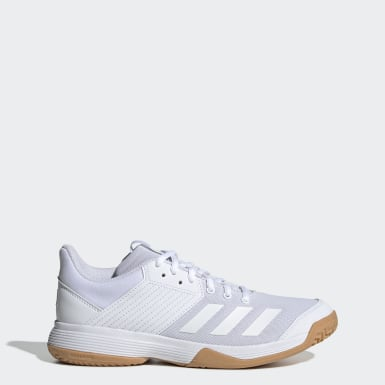 Women Volleyball White Ligra 6 Shoes