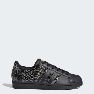 Kadın Originals Siyah Superstar Ayakkabı