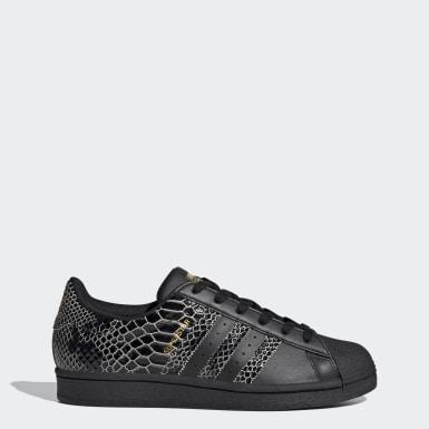 Kadın Originals Black Superstar Ayakkabı