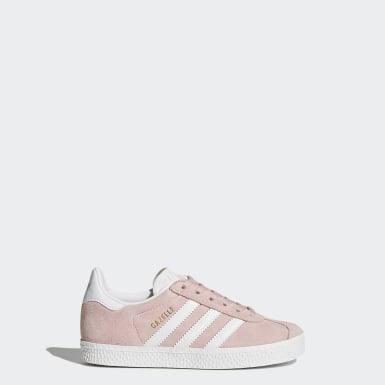 Zapatilla Gazelle Rosa Niño Originals