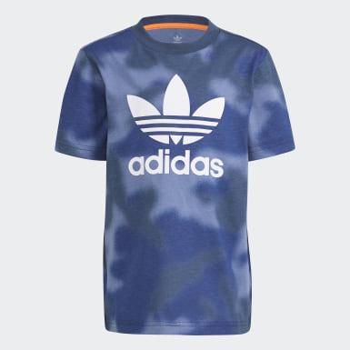 Boys Originals Blå Allover Print Camo T-shirt