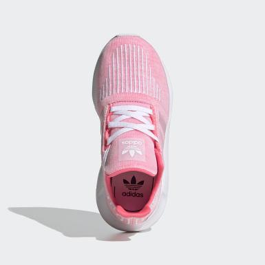 Kids 4-8 Years Originals Pink Swift Run Shoes
