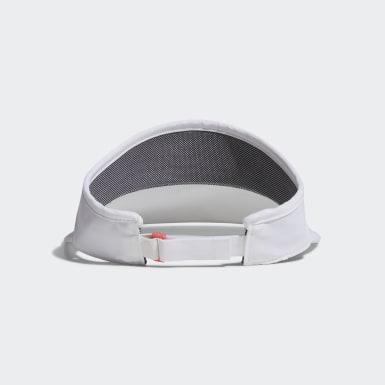 ผู้หญิง กอล์ฟ สีขาว หมวกแก๊ป Compact UV
