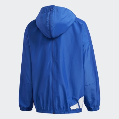 Kids Lifestyle Blue Lightweight Jacket