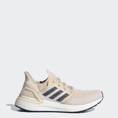 Women Running Beige Ultraboost 20 SB Shoes
