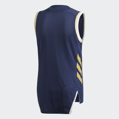 Heren Basketbal blauw Real Madrid Game Shirt