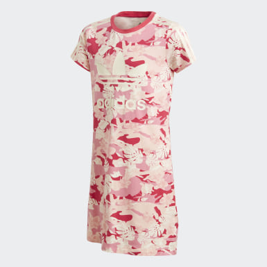 бежевый Платье Adicolor