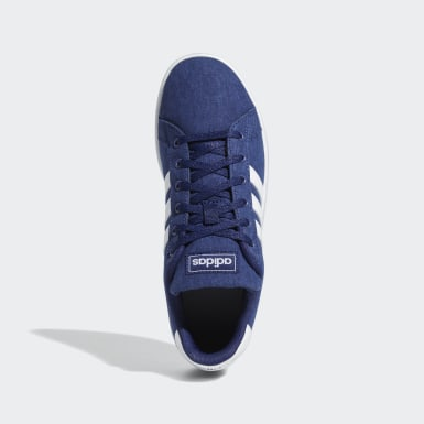 Children Sport Inspired Blue Grand Court Shoes