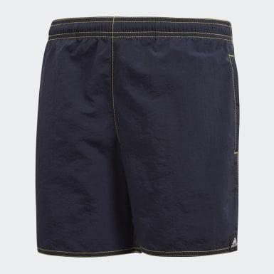 синий Пляжные шорты Solid
