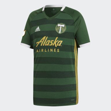 Männer Fußball Portland Timbers Heimtrikot Grün