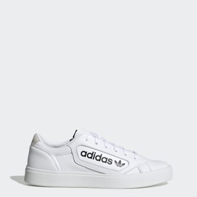 Dames Originals Wit adidas Sleek Schoenen