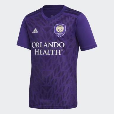 Youth Soccer Purple Orlando City SC Home Jersey