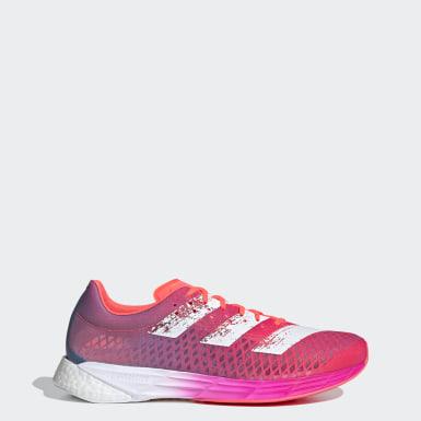 Heren Hardlopen roze Adizero Pro Schoenen