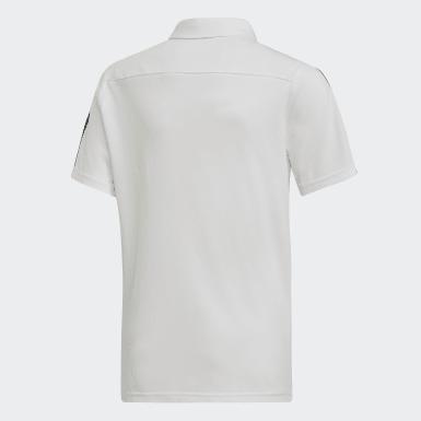 белый Футболка-поло Tiro 19 Cotton