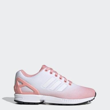 Dames Originals roze ZX Flux Schoenen